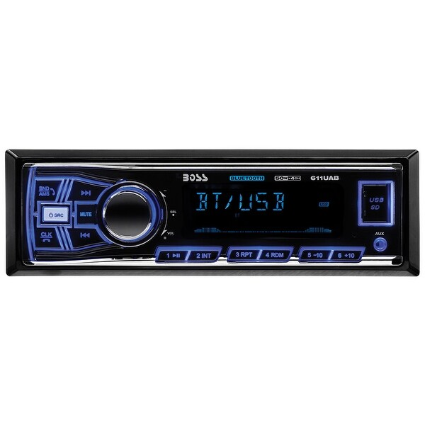 Boss Mechless Bluetooth AM/FM Receiver USB/SD Front Aux Input