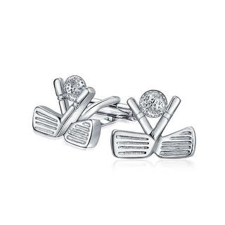 Bling Jewelry Mens Sports Cufflinks Golf Clubs and Ball Rhodium Plated|https://ak1.ostkcdn.com/images/products/is/images/direct/a6a189e7502a07d7e4f1ec0ad752486225960fef/Bling-Jewelry-Mens-Sports-Cufflinks-Golf-Clubs-and-Ball-Rhodium-Plated.jpg?impolicy=medium
