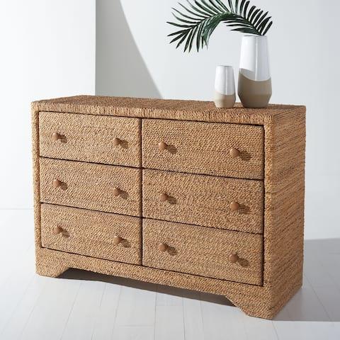 SAFAVIEH Couture Bellrose Woven Rope Dresser