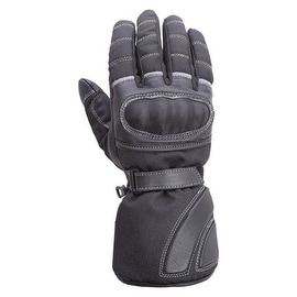 Motorcycle Carbon Fiber Knuckle Leather/Textile Riding Gloves Black MG5