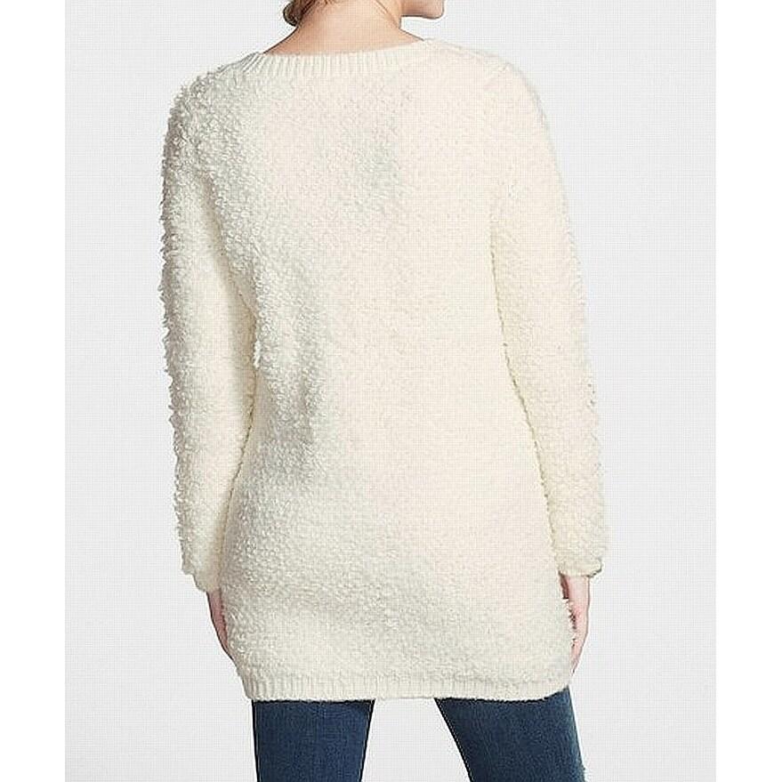 Sun & Shadow Women's Textured Cardigan Sweater