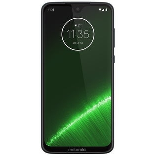 Motorola Moto G7 Plus XT1965-2 64GB Unlocked GSM Phone w/ Dual 16 MP & 5 MP Camera