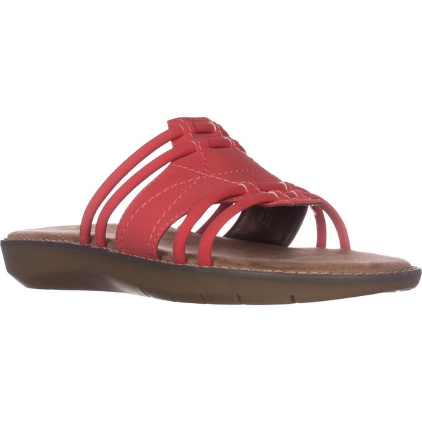 Aerosoles Super Cool Slide Sandals, Coral