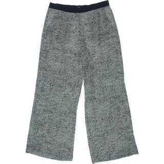 Nic + Zoe Womens Casual Pants Printed Flare