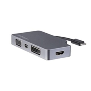 Startech CDPVDHDMDPSG USB-C Multiport Video Adapter, Space Gray