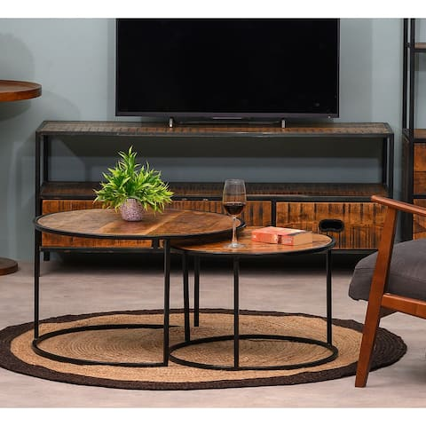 Arnova Nesting Coffee Table Set Of 2