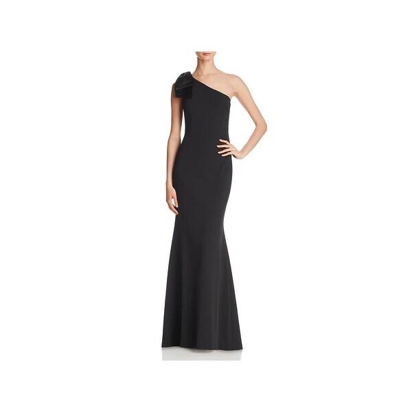 Eliza J Womens Formal Dress One-Shoulder Mermaid