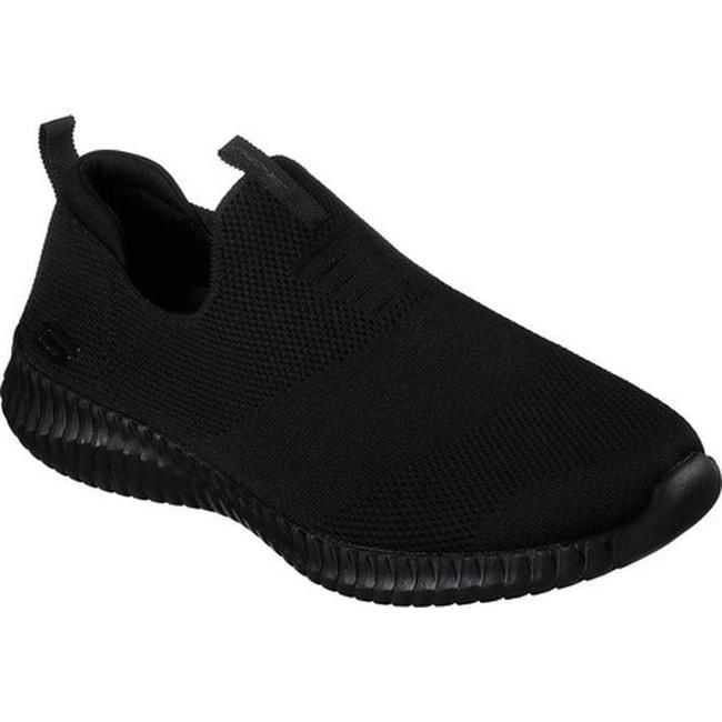 Skechers Men's Elite Flex Wasick Slip On Sneaker BlackBlack
