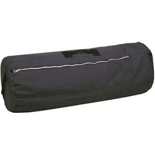 Stansport 1233 duffel bag w zipper 42x25 - Black