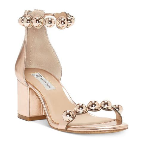 001fe130cb6 INC International Concepts Womens Haili Open Toe Casual Ankle Strap Sandals