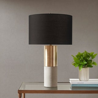 Link to Fulton Gold/ Black Table Lamp by Hampton Hill Similar Items in Table Lamps
