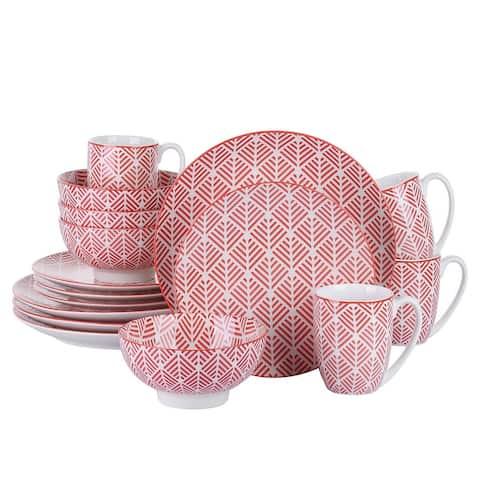 vancasso SAYUKI 16 Piece Oriental Ceramic Dinnerware (Service for 4)