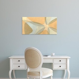 Easy Art Prints Renée W. Stramel's 'Nexus I' Premium Canvas Art