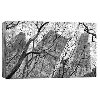 """PTM Images 9-103830  PTM Canvas Collection 8"""" x 10"""" - """"New York City Skyscrapers 1"""" Giclee New York Art Print on Canvas"""