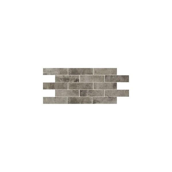 "Daltile BW28P Brickwork - 8"" x 2-1/4"" Rectangle Wall Tile - Textured Stone Visual"