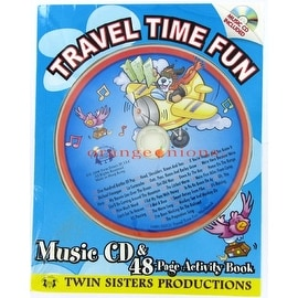 Travel Time Fun Music CD and Paperback Activity Book