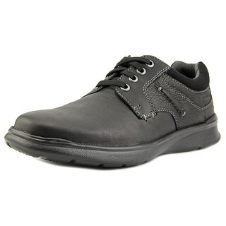 Clarks Cotrell Plain Men Round Toe Leather Black Oxford