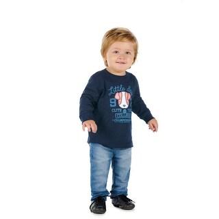 Pulla Bulla Baby Boy Long Sleeve Graphic Shirt Puppy Tee