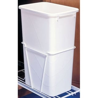 "Rev-A-Shelf RV-50-8 RV Series Single Bin 21.75"" Tall Replacement Trash Can - 50"