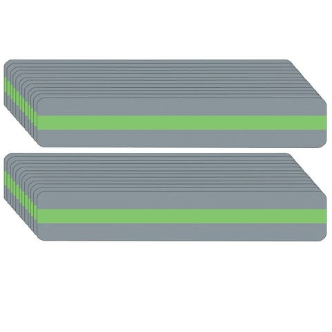 """Sentence Strip Reading Guide, 1.25"""" x 7.25"""", Light Green, Pack of 24 - One Size"""
