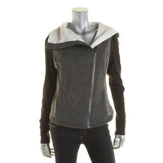 Alo Womens Colorblock Long Sleeves Jacket - M