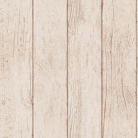 Farmhouse Planks Peel and Stick Wallpaper
