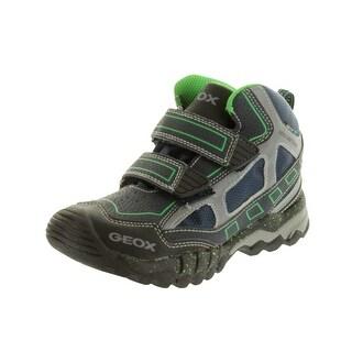 Geox Boys' Mountain Wpf Sneakers