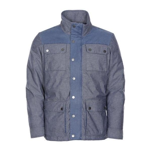 Tommy Hilfiger Barton 4-Pocket Jacket X-Large Blue Down Fill Insulation