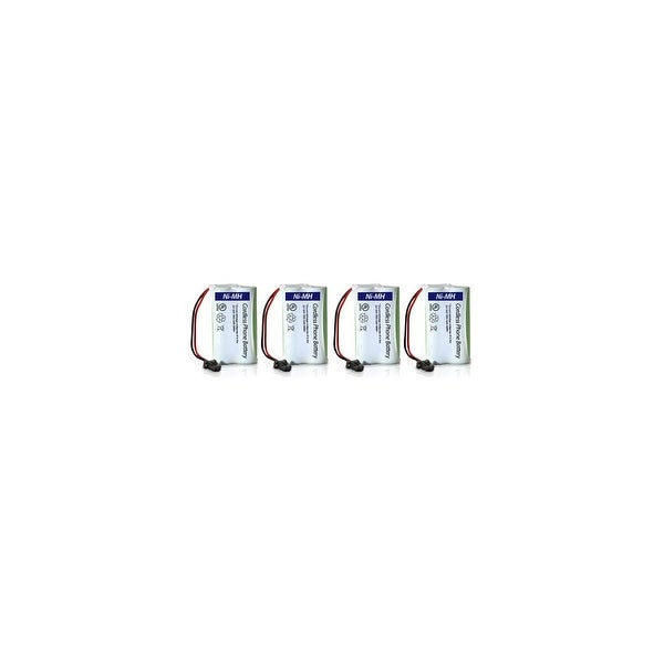 Replacement Battery For Uniden DCX150 Cordless Phones - BT1007 (600mAh, 2.4V, Ni-MH) - 4 Pack