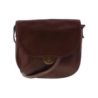 Fossil Womens Emi Crossbody Handbag Leather Adjustable - MEDIUM