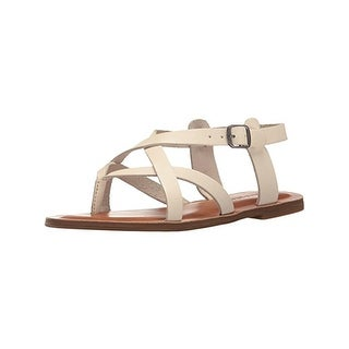 Lucky Brand Womens Adinis Thong Sandals Leather Strappy
