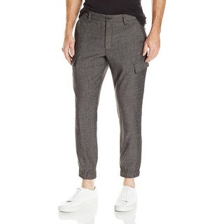 Kenneth Cole Reaction NEW Men's Black Size 34x28 Cargo Jogger Pants