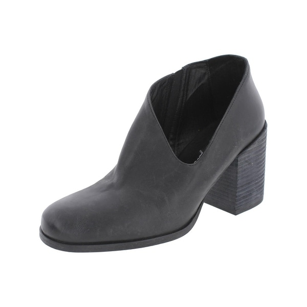 Free People Womens Block Heel Boot Casual Ankle - 37 medium (b,m)