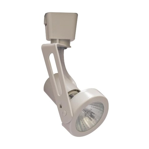"""Halo LZR316L 5"""" Tall Gimbal Ring Track Head for Halo and Lazer-by-Halo Track Sys - White - N/A"""