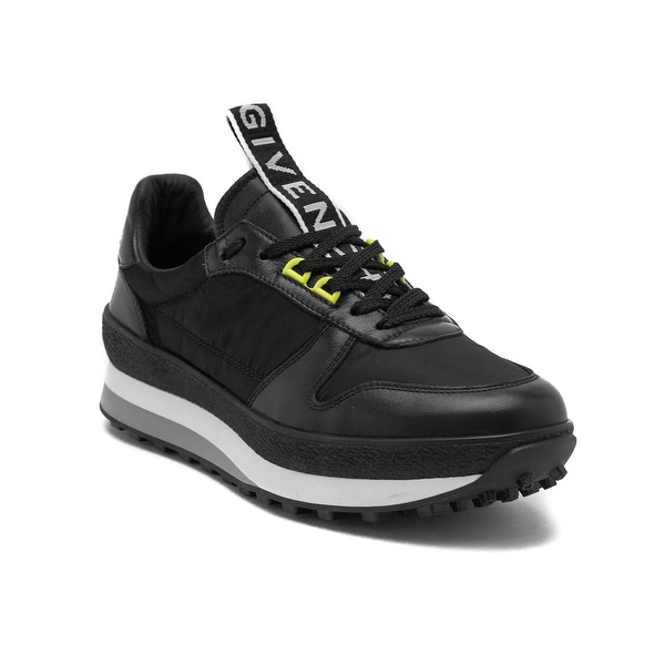 631ddf62d3b012 Shop Givenchy Men's Leather TR3 Running Sneaker Shoes Black - Free ...