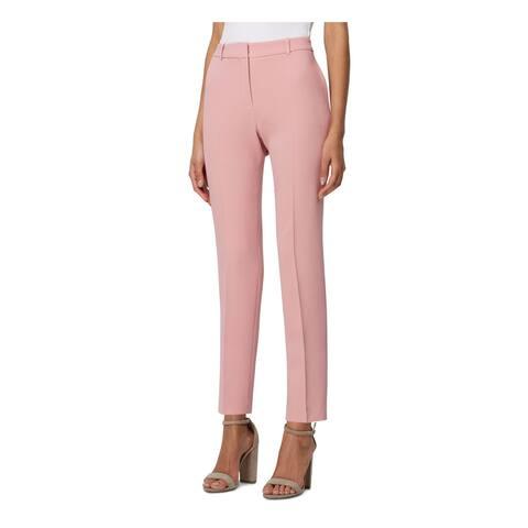 TAHARI Womens Pink Skinny Wear To Work Pants Size 18