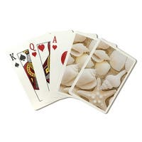 Seashells - Lantern Press Photography (Poker Playing Cards Deck)