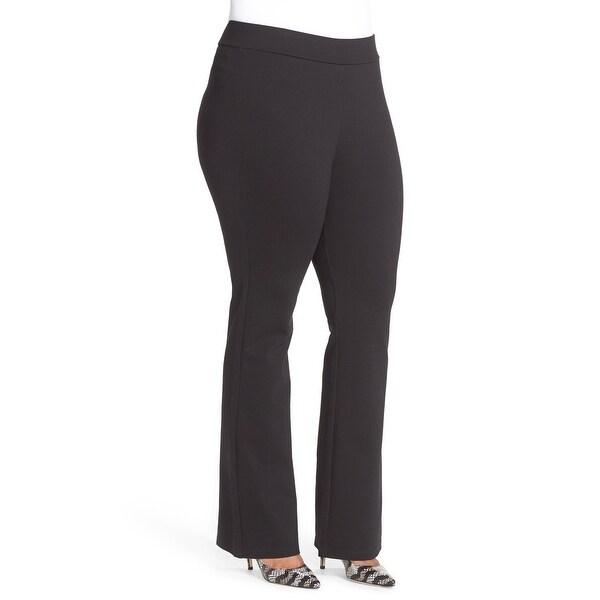 3c3ceeffc95cc NYDJ Black Women  x27 s Size 18W Plus Stretch Elastic-Waist Dress Pants