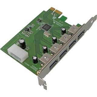 VisionTek 900544 Visiontek USB 3.0 PCIE Expansion Card - PCI Express - Plug-in Card - 4 USB Port(s) - 4 USB 3.0 Port(s)