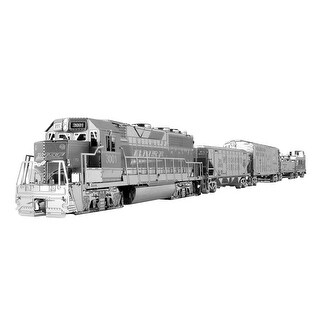 "Five Piece Museum Quality Freight Train Set - 17"" - Silver"
