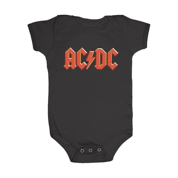 AC/DC Infant Snapsuit - One-Piece Baby Outfit