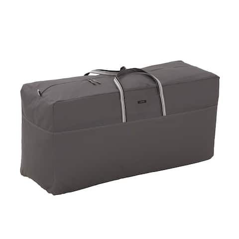 Classic Accessories Ravenna Water-Resistant 60-Inch Storage Bag for Patio Cushions/Covers