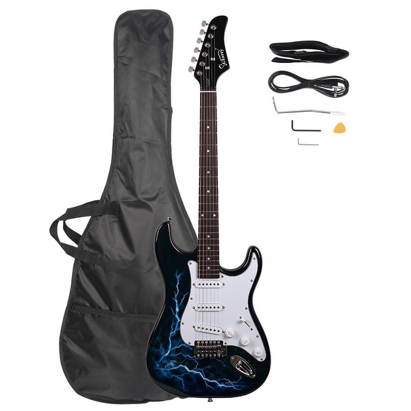 Glarry GST-E Electric Guitar Bag Shoulder Strap Pick. Opens flyout.