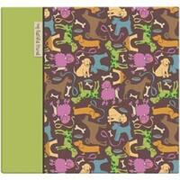 """Cute Doggie Post Bound Picture Album 12""""X12""""-"""