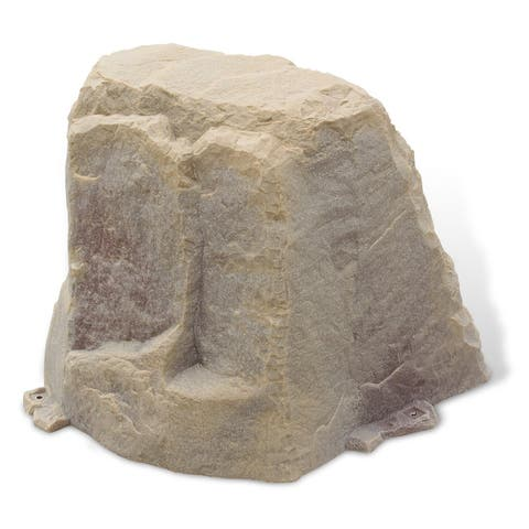 Fake Rock Well Cover Model 102 Sandstone