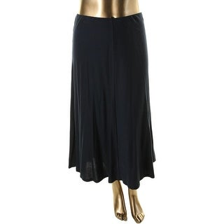 American Living Womens Cotton Pull On Maxi Skirt - L