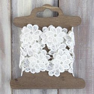Floral Lace Trim 1.5Yd-Posey