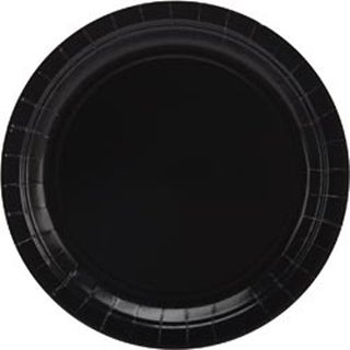 "Black - Big Party Pack Dinner Plates 9"" 50/Pkg"