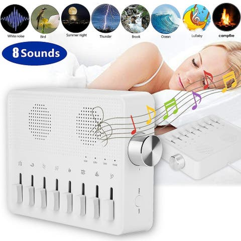 White Noise Travel Machine for Sleeping Baby Bedrooms - M