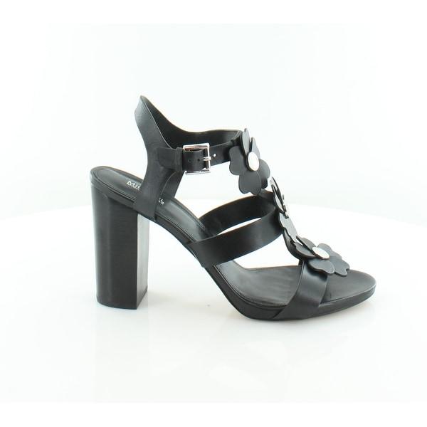Michael Kors Kit Dress Sandals Women's Sandals & Flip Flops Black